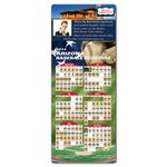 X-Large Pro Baseball Sports Schedule Magnets