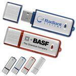 Custom Metallic Flash Drive ML w/Translucent Trim (16 GB)