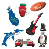 Custom PVC USB Flash Drives