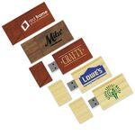 Custom USB 2.0 Eco Good Wood Drive EG Flash Drive (8 GB)
