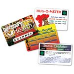 Custom Stress-O-Meter Deluxe Mood Card w/VibraColor Process