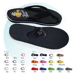 Custom Imprinted Bottle Opener Sandal Flip Flops