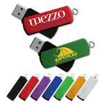 Custom SuperSwing Flash Drive SU w/ Aluminum Swivel Cover (1 GB)