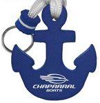 Custom Captain's Mate Anchor Shape Floating Key Chain