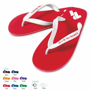 Custom Imprinted Flip Flops