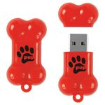 Custom Dog Bone Drive DB Flash Drive (2 GB)
