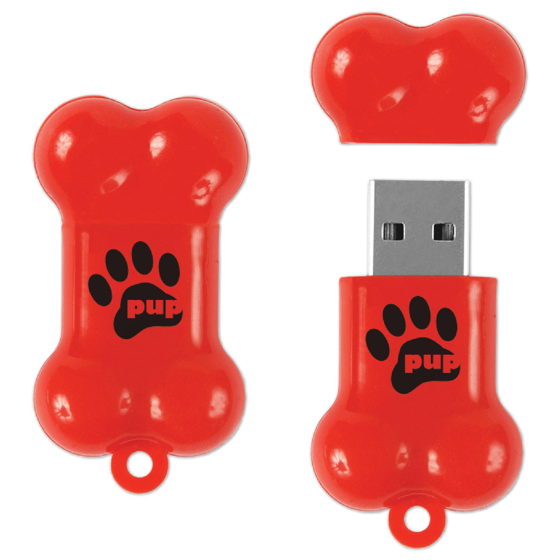 Dog Bone Drive™ DB Flash Drive (2 GB)