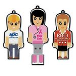 Custom USB 2.0 Mini Me Drive ME Flash Drive (16GB)