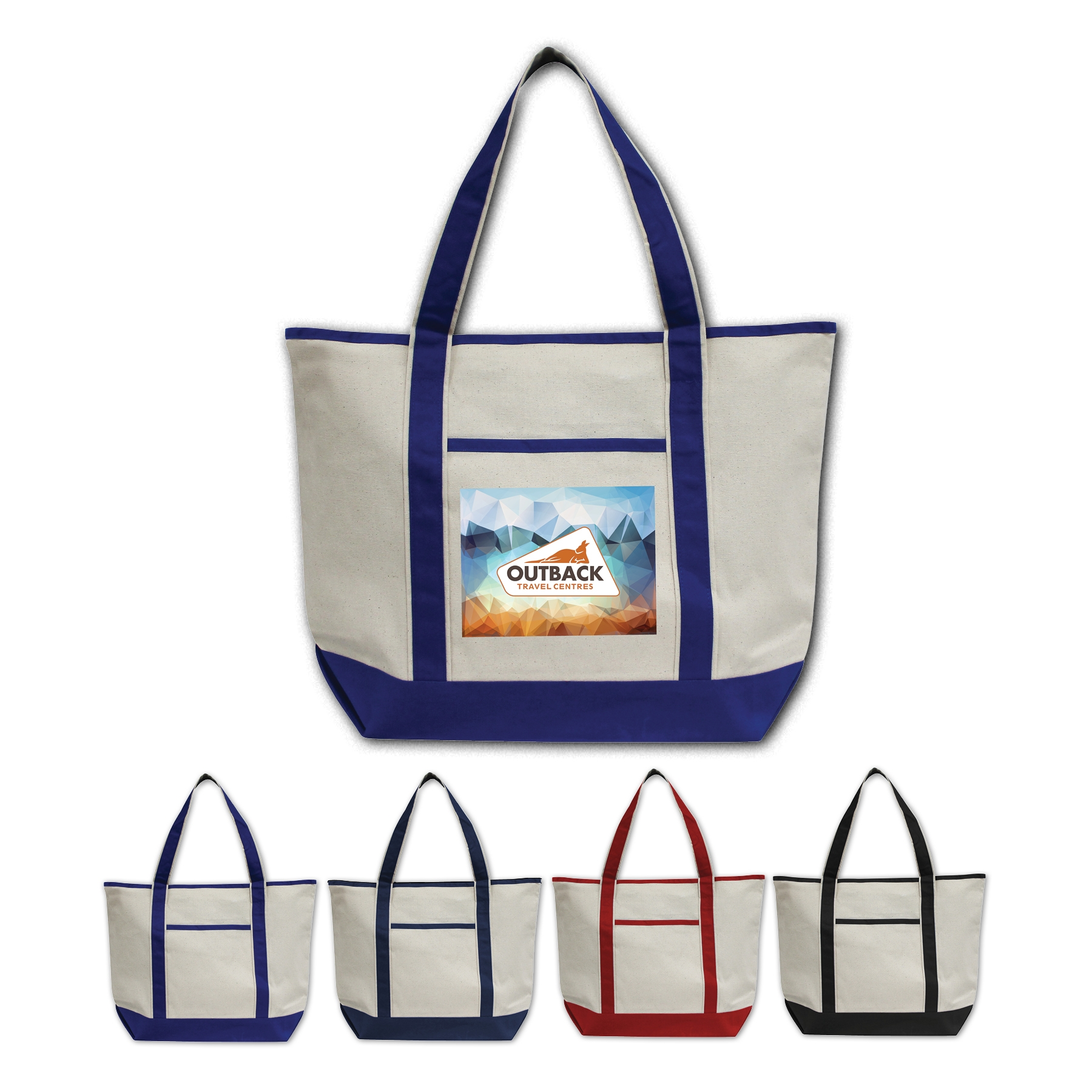 BrandGear™ Seaport Boat Tote Bag™