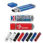 Custom USB 2.0 Rectangle Flash Drive SE (512 MB)
