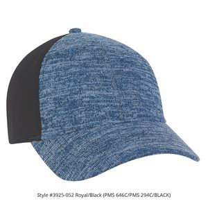 ba873a789e10ca Tri-Blend Knit w Pineapple Mesh Cap (Royal Blue Black) - 3625-052 -  IdeaStage Promotional Products