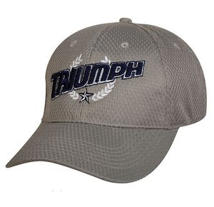 2aeecaa2 Structured Jersey Mesh Polyester Baseball Cap (Gray) - 4166-008 - Brilliant  Promotional Products