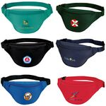 Custom Two Zippered Polyester Fanny Pack (12