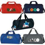 Custom Roll Sporty Duffle Bag (18