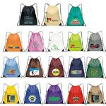 Multi Purpose Drawstring Tote Bag ( 15