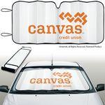 Custom Eluminator TM Accordion Fold Automobile Sun Shades