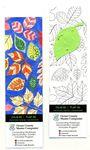 Coloring Bookmark -Leaf