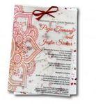 Custom Handmade Plantable Menu/Invitation w/Seed Paper (4