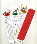 Recipe Bookmark w/Seeded Paper