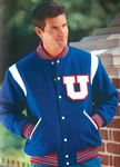 The Winner Custom Wool Varsity Jacket w/1 Color Leather Shoulder Inserts