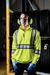 Custom The Eclipse Survivor Hi-Vis Work Shirt with Segmented Tape