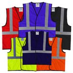 Custom The Econo Work-Zone Safety Vest with Reflective Tape (non-ANSI)