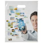 Custom Digital Full-Color Die Cut Bag (12
