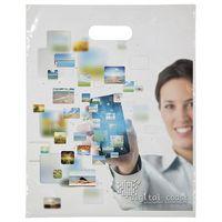 "Digital Full-Color Die Cut Bag (12""x15"")"