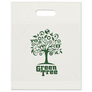 Eco Die Cut Handle Bag (12x15x3)