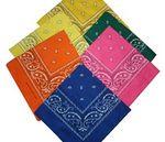 Custom Bandana 100 percent Micro Polyester - Paisley Style 22