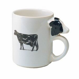 Custom Made Cow Handle Shaped Mugs!