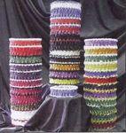 Custom 2 Color Armband or Garter w/Rosette & 1 Color Ribbon