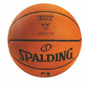 Custom Spalding Official NBA Game Ball, Orange