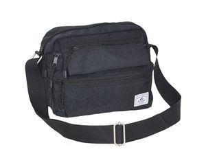Custom Everest Cross Body Bag, Black