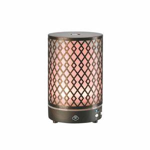 Custom Serene House Aroma Diffuser/Scentilizer, Window Box, Arrow 90, Metal/Dark Wood Base