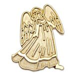 Custom Stock Angel with Wing Lapel Pin