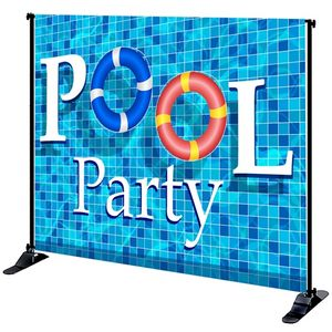 8' x 10' Mighty Banner Fabric Graphic w/ Large Tube Frame Kit