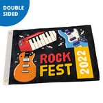 Custom 4' x 6' Custom Pole Flag - Double Sided FULL COLOR