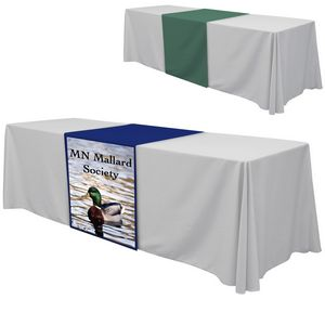 24 x 63 Table Runner Polyester Full Color Dye Sublimation
