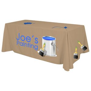 4 x 30 Top x 29 H Standard Table Throw (Full Color Print) Dye Sublimated