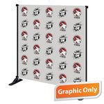 Custom 8' x 8' Mighty Banner Fabric Graphic Only