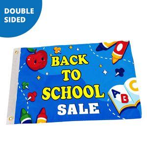 3 x 5 Custom Pole Flag - Double Sided FULL COLOR