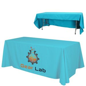 8 x 30 Top x 29 H Economy 3-Sided Table Throw Throw (Full Color Print) Dye Sublimation