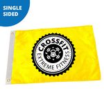 Custom 5' x 8' Custom Pole Flag - Single Sided