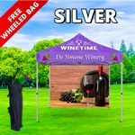 Custom Silver Event Package - 10' Tent and Backwall