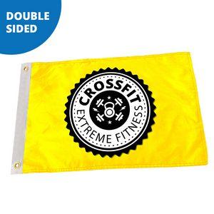 5 x 8 Custom Pole Flag - Double Sided FULL COLOR