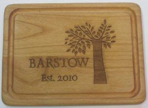 11 x 14 - Hardwood Cutting Boards - Laser Engraved - USA-Made