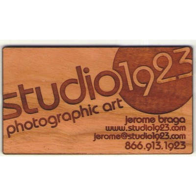 Promoadvantage marketing group llc promotional products apparel 2 x 35 wood business cards customized shapes laser engraved colourmoves