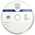 Custom Medical Grade Branded CD-R (Silk Screen from 1C to 5C)