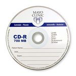 Custom Printed CD-Recordable 700MB 52X